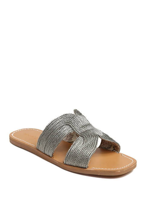 Band of Gypsies Flat H Band Sandals