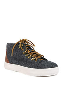 Band of Gypsies Dove Hiker Lace Sneakers
