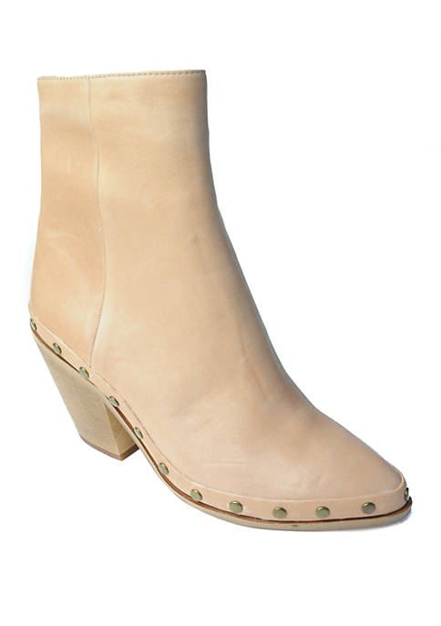 Band of Gypsies Empire Studded Wood Heel Ankle
