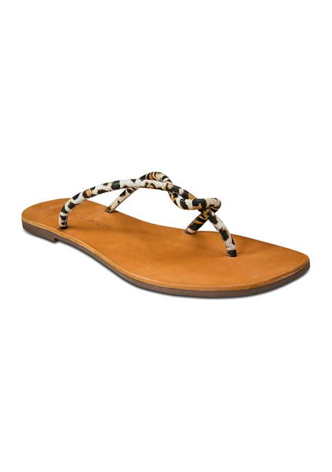 Band of Gypsies Ibiza Strippy Toe Thong Sandals