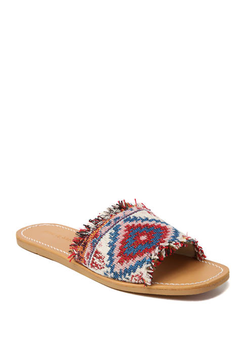 Band of Gypsies Fringed Flat Sandals