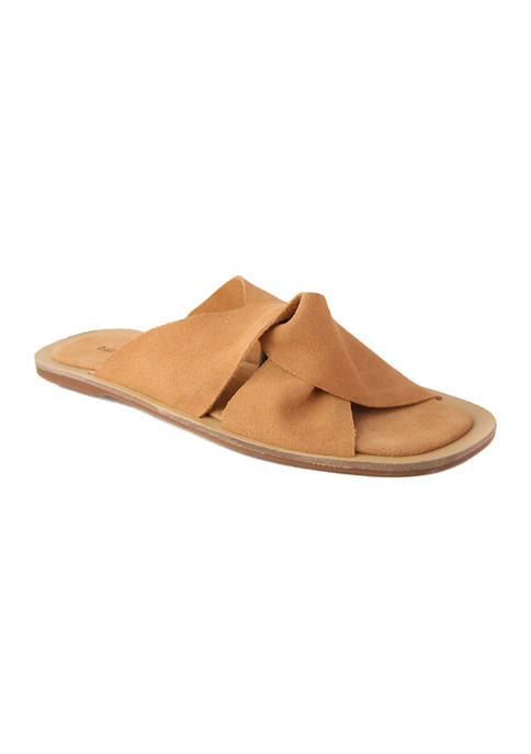 Band of Gypsies Phoebe Crossover Slide Sandals