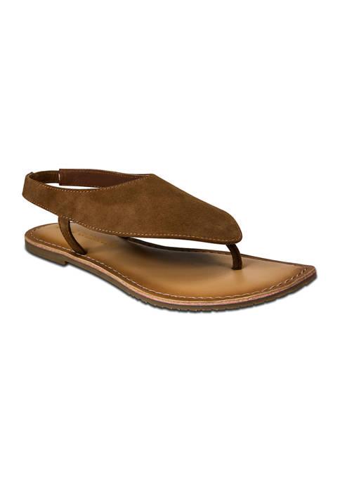 Palma  Slingback Thong Sandals