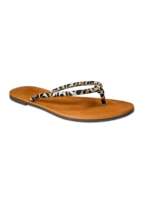 Pipa Flat Thong Sandals