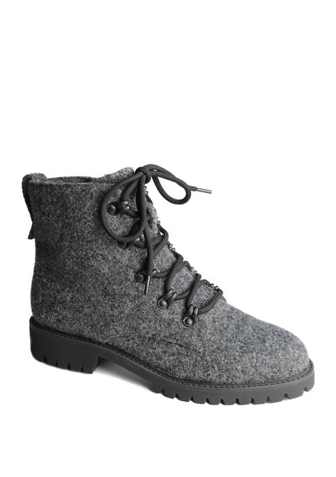 Lug Sole Speed Lace Hiker Boots