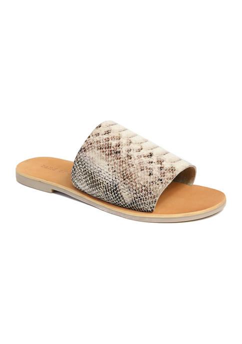 Wide Band Slide Sandal