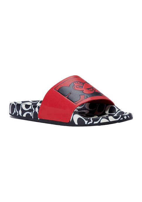 COACH X Mickey Slides