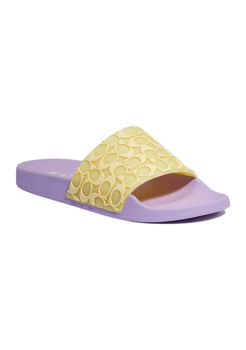 COACH Udele Slide Sandals