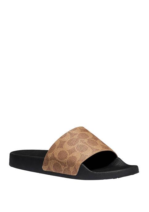 COACH Udele Sport Slide Sandals