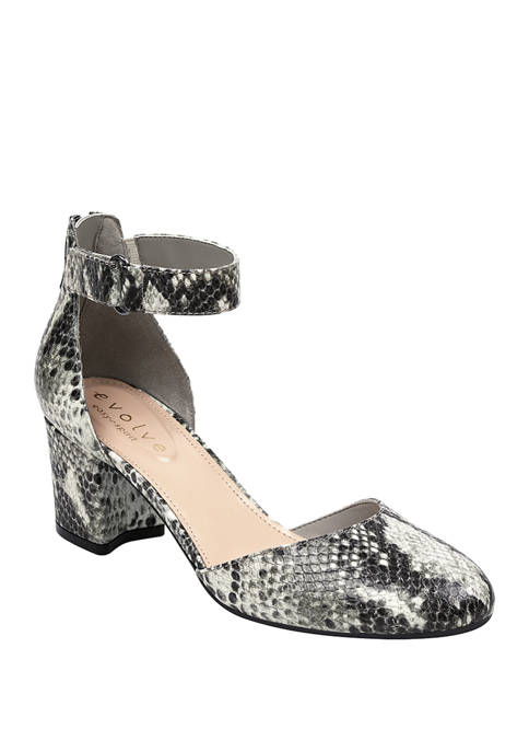 Evolve Crystal Dress Pumps