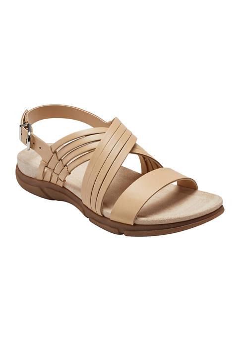 Easy Spirit Marlis Strappy Flat Sandals