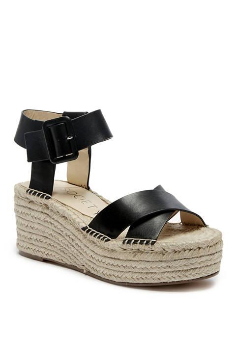 Audrina Espadrille Platform Sandals
