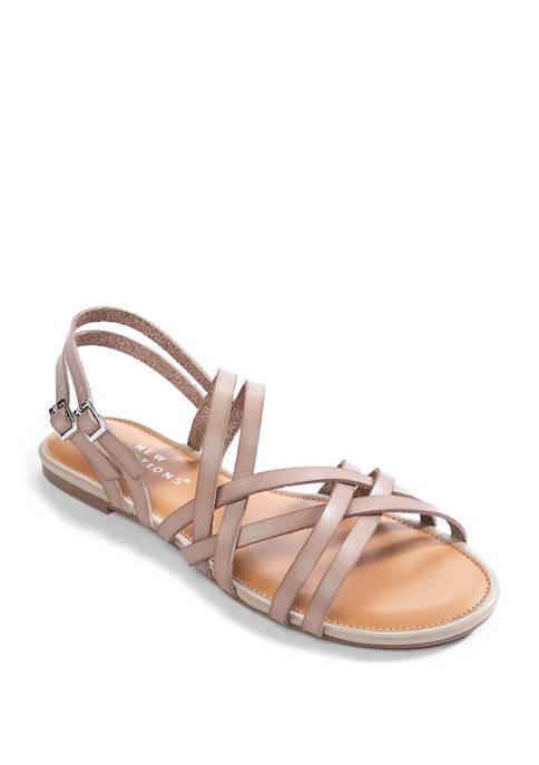 Juliet Flat Sandals