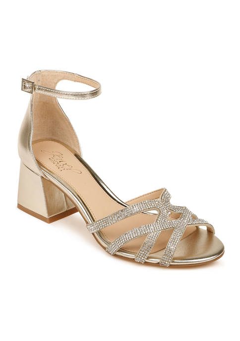 Jewel Badgley Mischka Fidelia Dress Heels