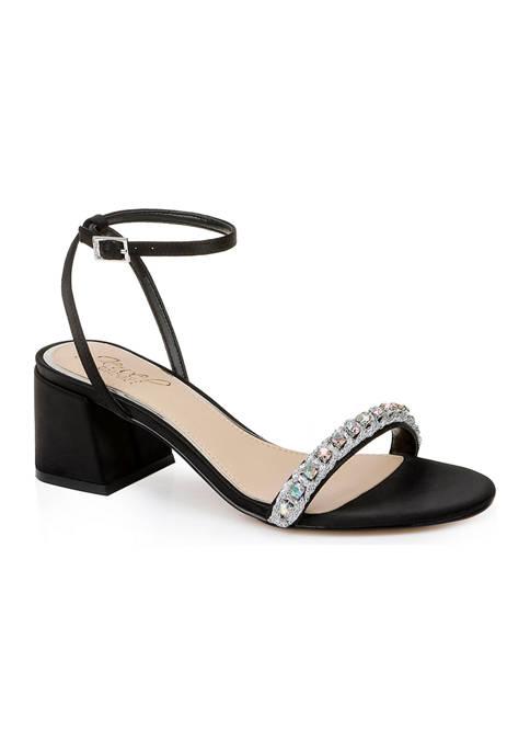 Jewel Badgley Mischka Odonna Sandals
