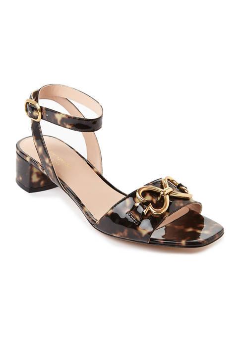 kate spade new york® Lagoon Heart Chain Sandals