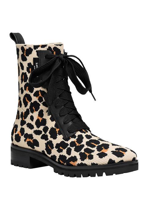 Kate Spade Merigue Combat Boots