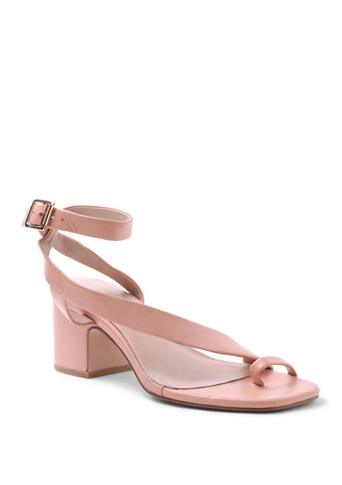 BCBGeneration Asymmetrical Block Heel Sandals