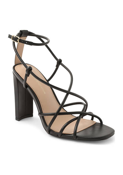 BCBGeneration Wanni Strappy Leather Sandals