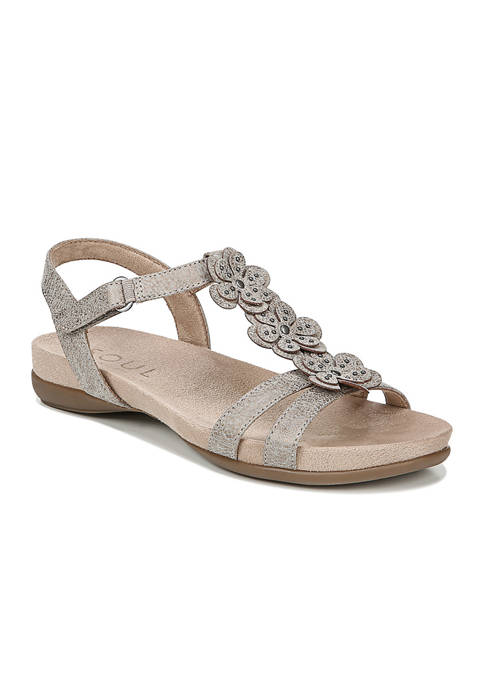Alivia Quarter Ankle T-Strap Sandals