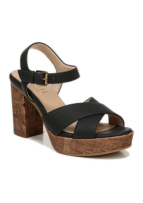 Aries Quarter Ankle T-Strap Sandals