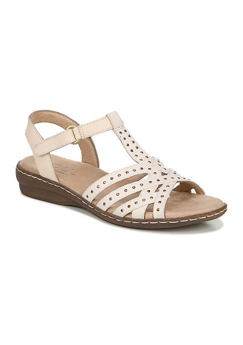 Brielle Quarter Ankle T-Strap Sandals