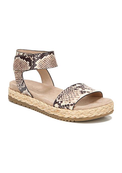Detail Quarter/Ankle/T-Strap Sandals