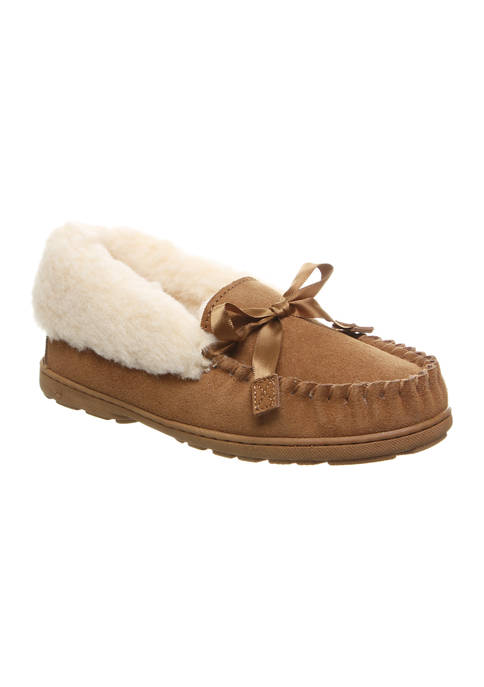 Bearpaw Indio Moccasin Slippers