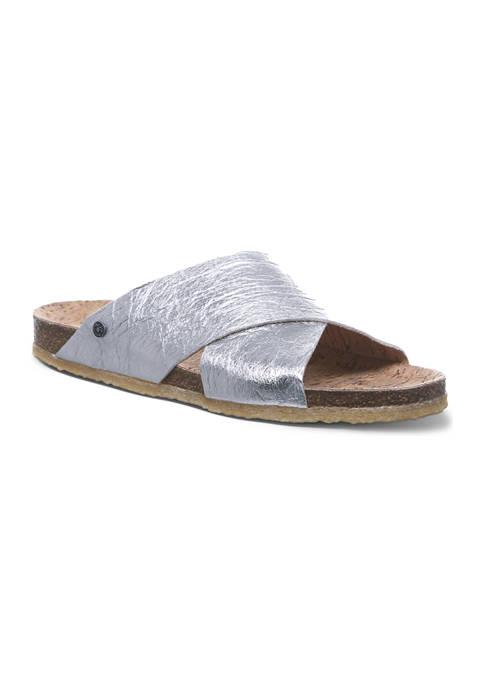 Bearpaw Pina Vegan Footbed Sandals