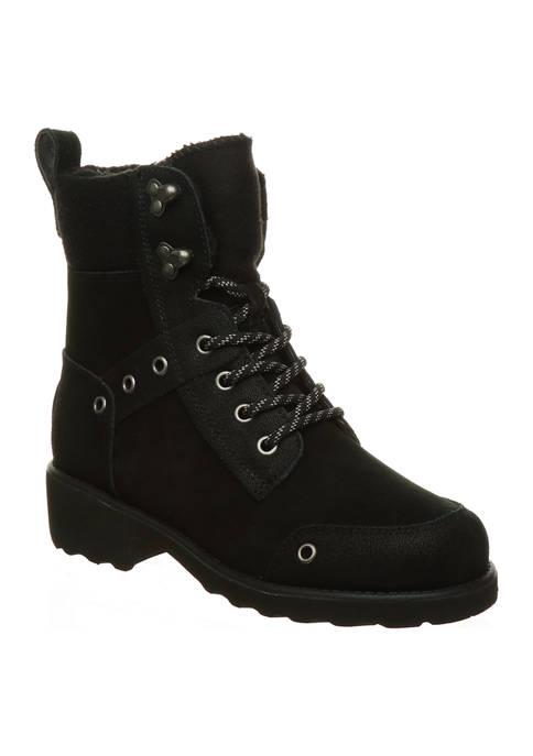 Alicia Lace Up Boots