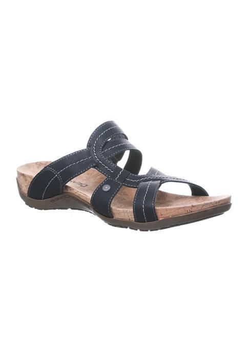 Bearpaw Kai II Cork Footbed Slide Sandals