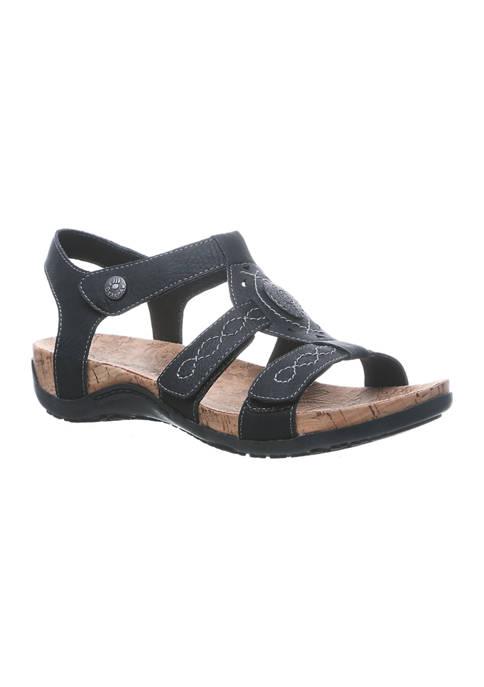 Bearpaw Ridley II Cork Footbed Sandals