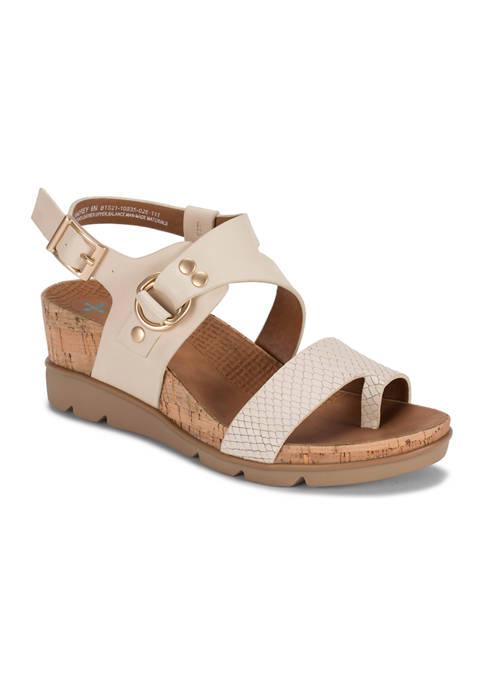 BareTraps Landrey Posture Plus+ Wedge Sandals