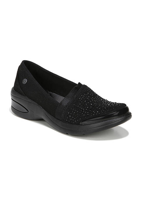 Bzees Red Hot Slip On Shoes