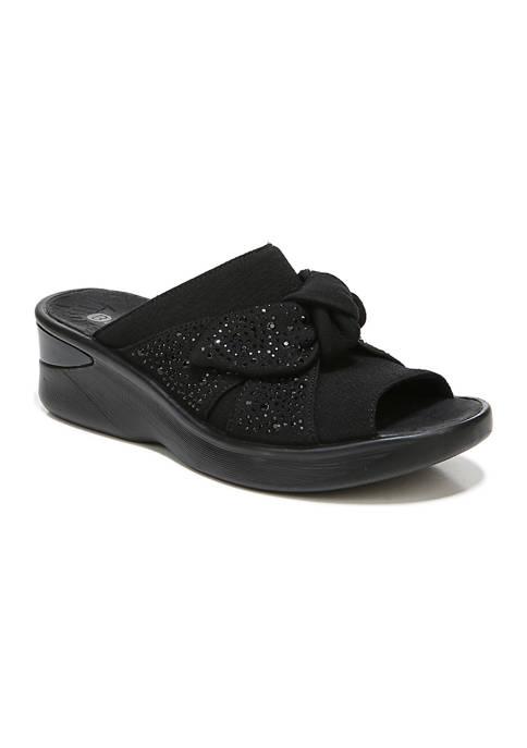 Bzees Smile Bright Slide Sandals