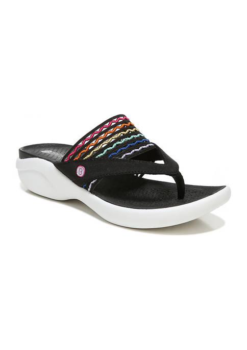 Bzees Cabana Thong Sandals