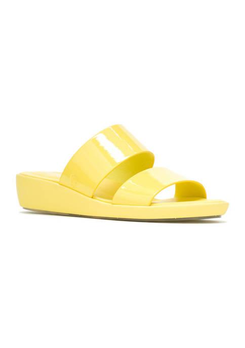 Hush Puppies Brite Jells Slide Sandals