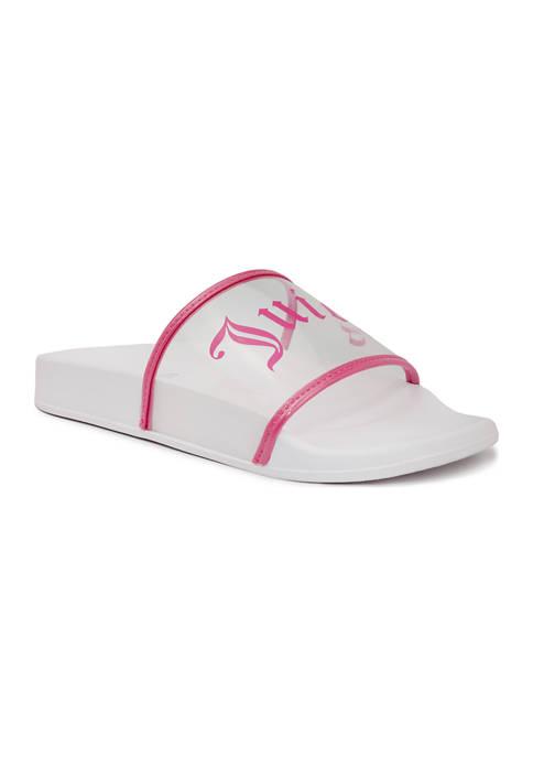 Juicy Couture Wanderlust Slide Sandals