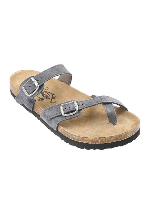 Anya Cork Footbed Sandals