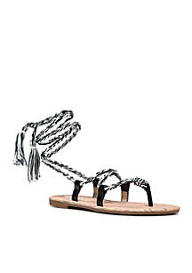 Beth Lace Up Sandal