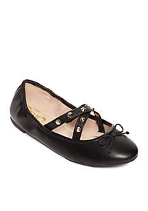 Circus by Sam Edelman Cayenne Leather Stud Ballet Flats