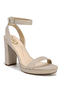 Annette One Band Ankle Strap Heels