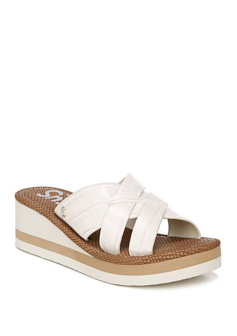 Hadley Wedge Sandals