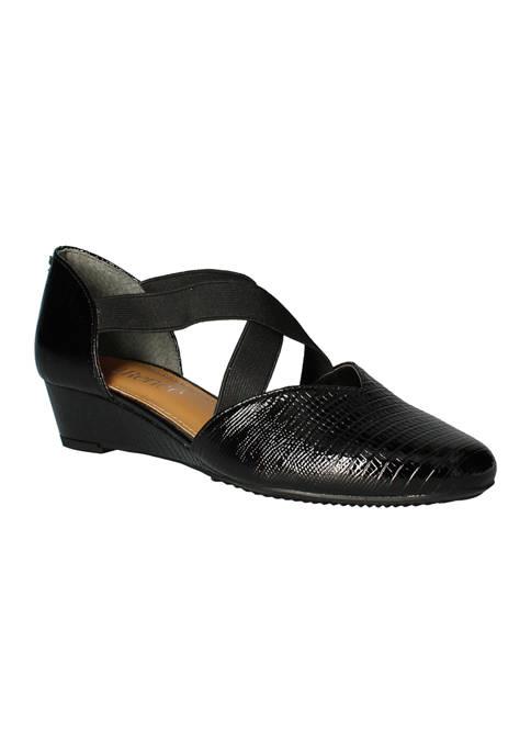 Zeshan Wedge Sandals