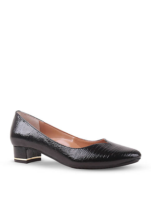 J Reneé Bambalina Sweetheart Low Block Heels