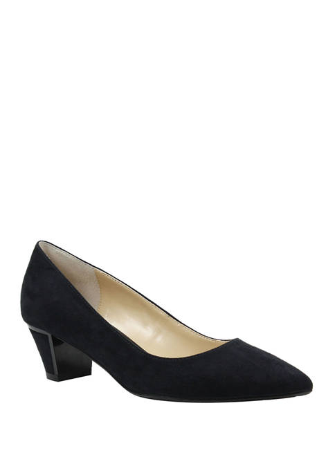Bonita Block Heel Pumps