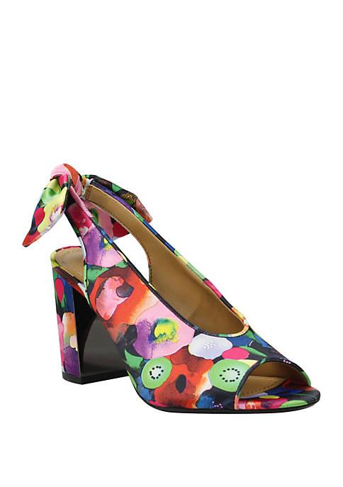 Brietta Block Heel Sandals