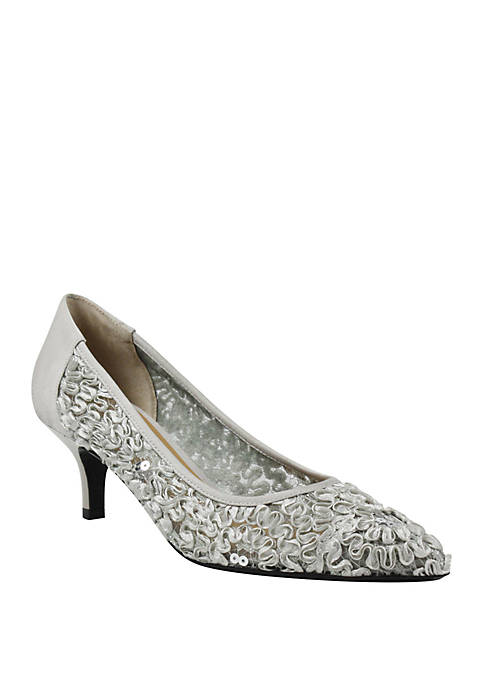 J Reneé Daray Lace Pumps