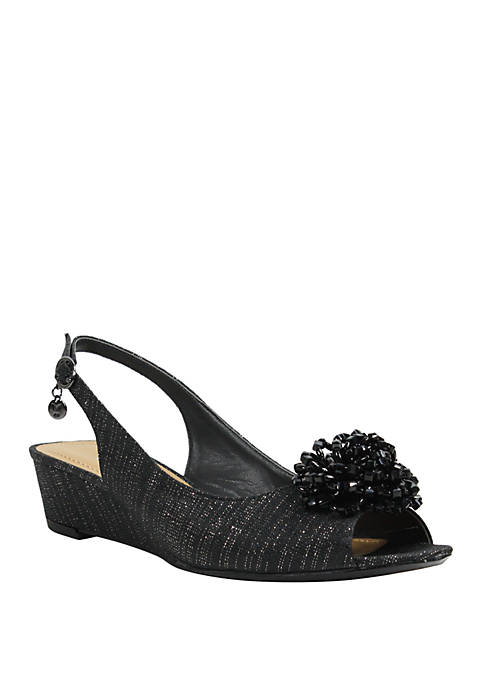 J Reneé Donalda Slingback Wedge Sandals