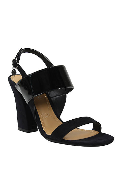 J Reneé Emberley Block Heel Sandals